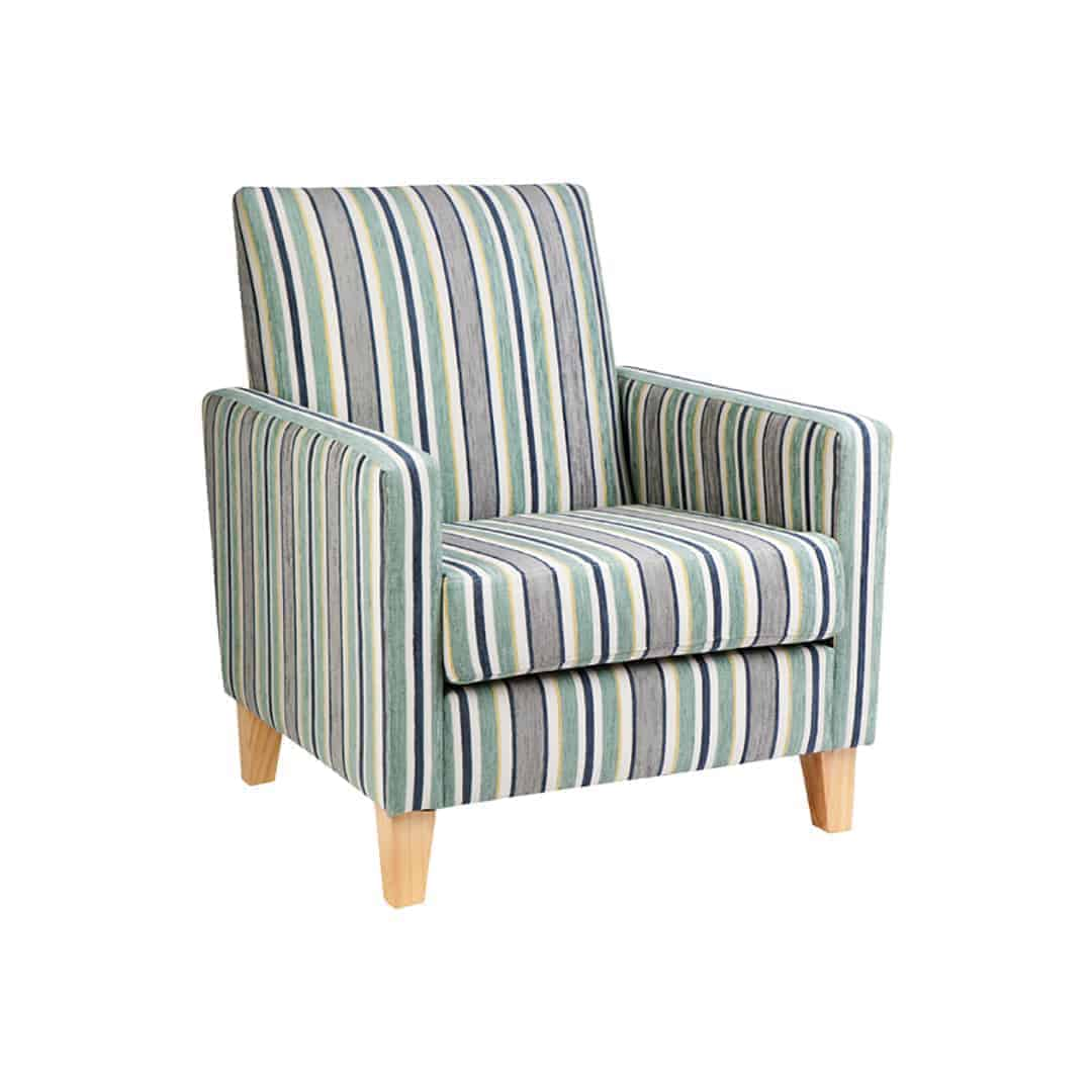 Commercial chair - Designer Chair - Accent chair - Boutique Chair - Occasional Chair -Warwick Fabric